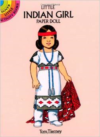 Little Indian Girl Paper Doll