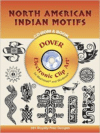 North American Indian Motifs CD-ROM and Book