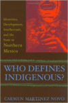 Who Defines Indigenous?: Identities, Development, Intellectuals, and the State in Northern Mexico