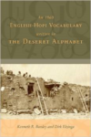 1860 English-Hopi Vocabulary Written in the Deseret Alphabet