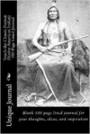 Touch the Clouds Portrait (Native American Indian) 100 Page Lined Journal: Blank 100 Page Lined Journal for Your Thoughts, Ideas, and Inspiration