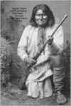 Apache Native American Indian Geronimo Portrait 100 Page Lined Journal: Blank 100 Page Lined Journal for Your Thoughts, Ideas, and Inspiration