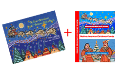Bundle Deal (Book+DVD) - NNative American Night Before Christmas